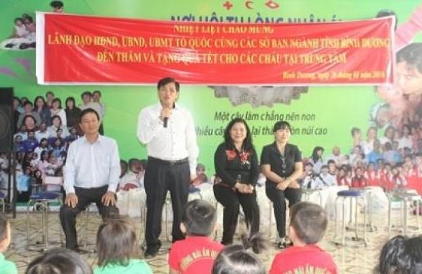 HĐND- UBND- Ủy ban mặt trận Tổ quốc cùng các sở ban ngành tỉnh Bình Dương