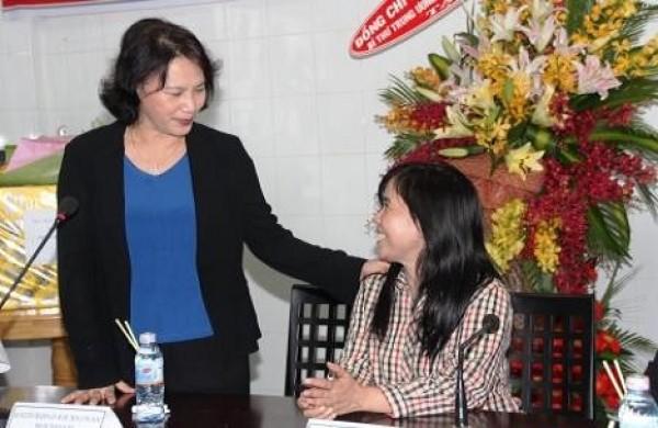 Bí Thư Trung Ương Đảng, Phó Chủ Tịch Quốc Hội Nguyễn Thị Kim Ngân