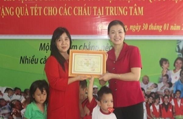Bà Trương Thị Ngọc Ánh-Phó chủ tịch ủy ban TW mặt trận Tổ quốc Việt Nam