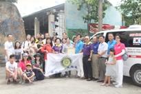 Rotary Club of Hsinchu Northeast,Taiwan đến thăm và tặng quà