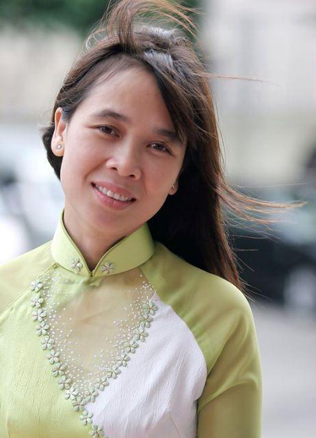 Mẹ Huỳnh Tiểu Thương trả lời phỏng vấn báo Đại Đoàn Kết
