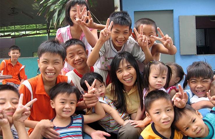 Chuyện về những đứa trẻ mồ côi ở Trung tâm Nhân đạo Quê Hương