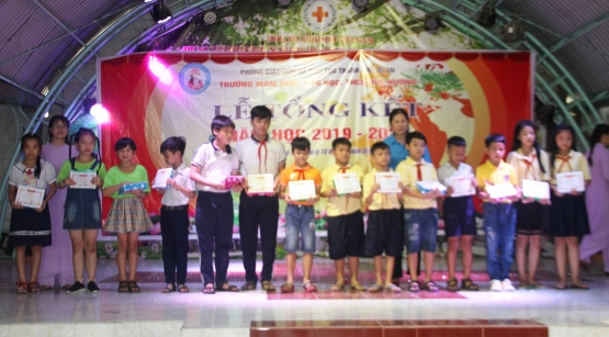 Lễ Tổng Kết Năm Học 2019 -2020 Trường MN-TH-THCS Quê Hương Huỳnh Tiểu Hương