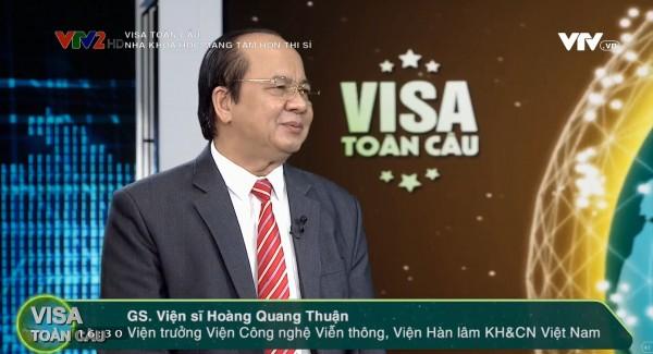 Giáo Sư - Viện Sĩ Hoàng Quang Thuận Nhà Khoa Học Mang Tâm Hồn Thi Sĩ