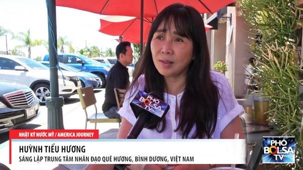 Mẹ Huỳnh Tiểu Hương Rơi Lệ Khi Nhắc Đến Tổng Thống Donald Trump