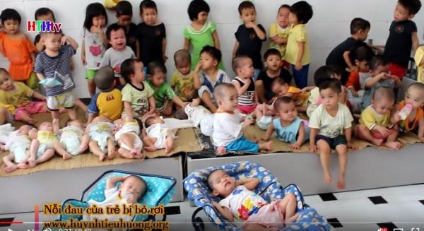 Nỗi đau của hàng trăm trẻ cô nhi cần giúp đỡ -Huynh Tieu Huong